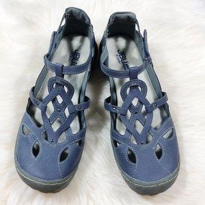 JBU by JAMBU Memory Foam Sydney Sandals Blue 10M